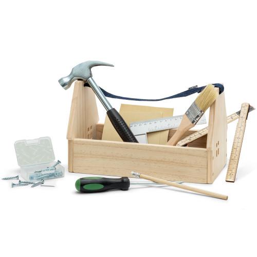 Micki Snickarlåda med verktyg