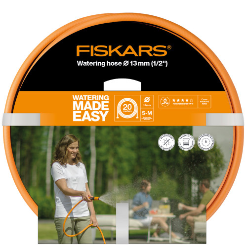 "Fiskars Vattenslang Q4 20m Ø13mm(1/2"")"