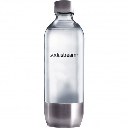 SodaStream PET-Flaska 1 liter, Metall