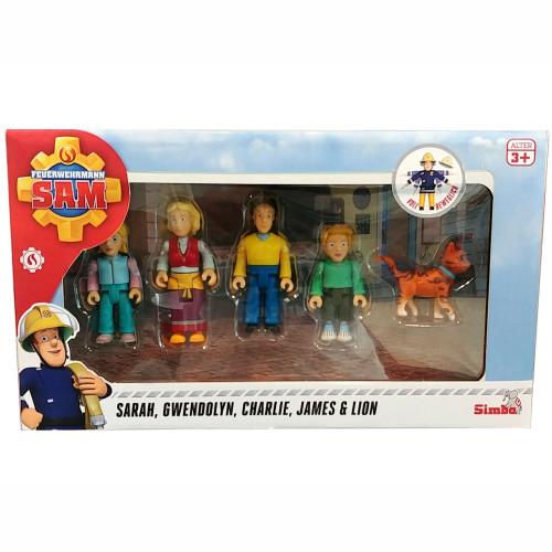 Brandman Sam Sam Jones Family Figurine