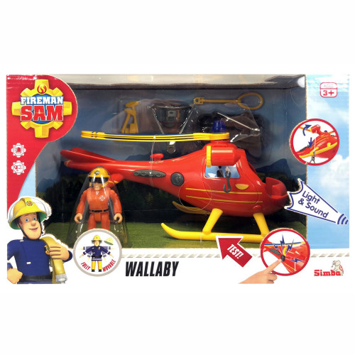 Brandman Sam Sam Helicopter Wallaby incl. F