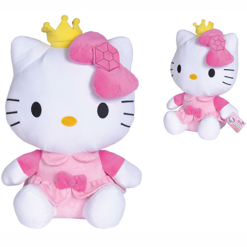 HELLO KITTY Plush in Princess Outfit 50cm
