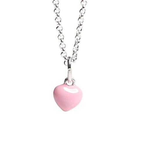Kalas Halsband Rosa Hjärta Litet