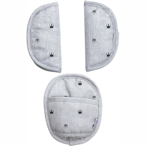 Dooky Universal Pads Grey Crowns