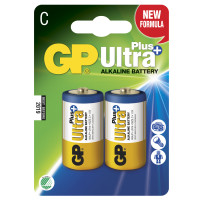 GP Ultra Plus Alkaline C LR14 2-p