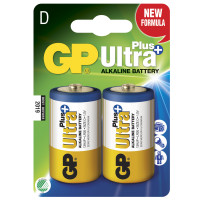 GP Ultra Plus Alkaline D LR20 2-p