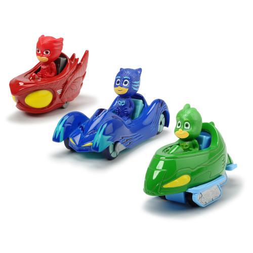 Pyjamashjältarna 3-pack fordon