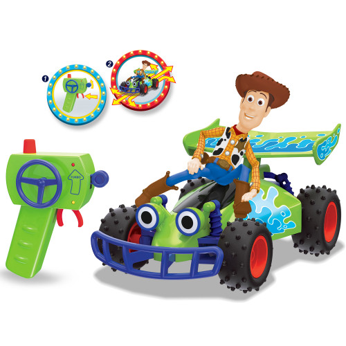 DISNEY RC Toy Story Buggy with Woody