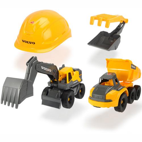 Dickie Volvo Construction Playset