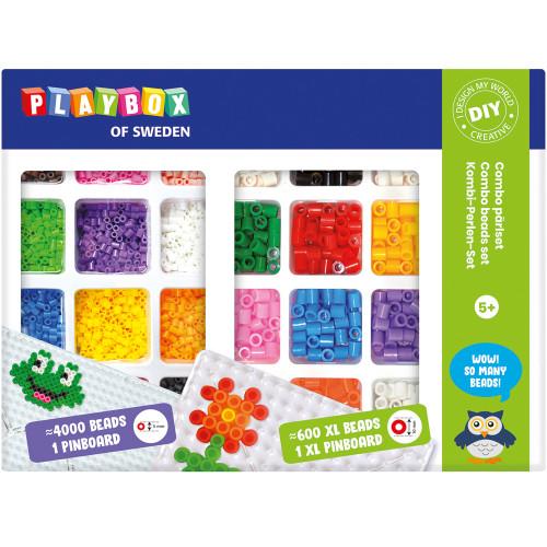Playbox Pärlset XL Rörpärlor & Midi Rö