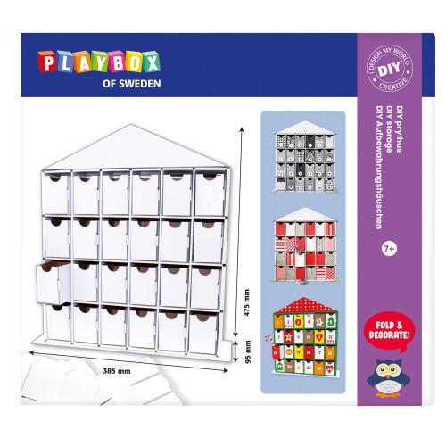 Playbox Pysselset DIY Prylhus