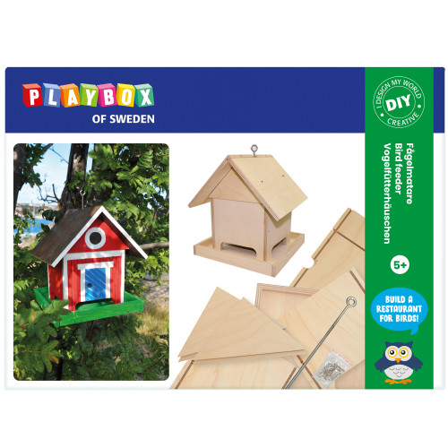 Playbox Pysselset Fågelmatare