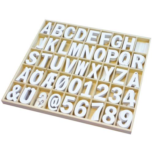 Playbox Träbokstäver & Siffror