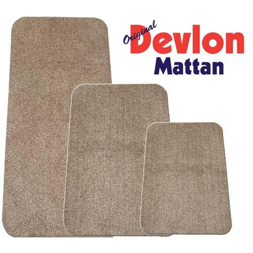 Devlon Matta 75X50 cm Beige