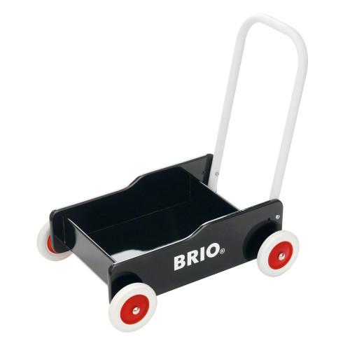 Brio 31351 Lära Gå Vagn Svart