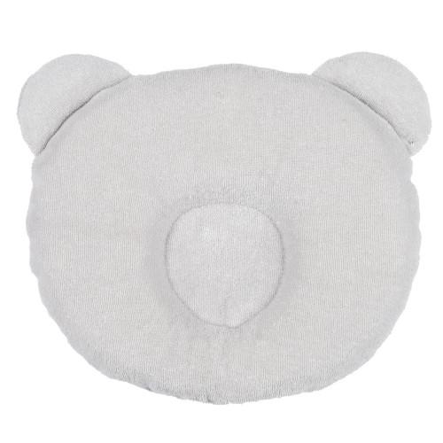 Candide Panda Babykudde Ljusgrå