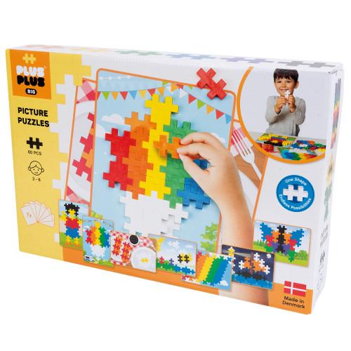 Plus-Plus Big Picture Puzzel Basic/60 pc