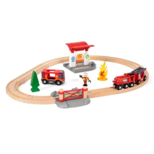 Brio 33815 Tågset med brandmanstema