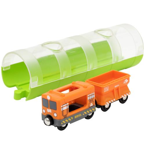 Brio 33891 Godståg och tunnel