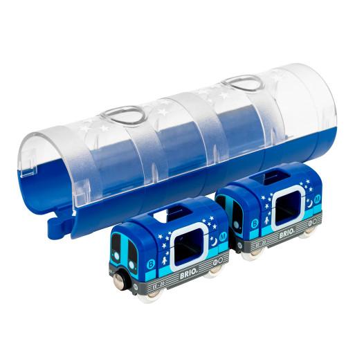 Brio 33970 Tunnelbanetåg och tunnel