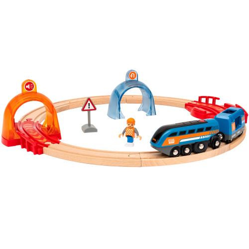 Brio 33974 Action Tunnel Circle Set