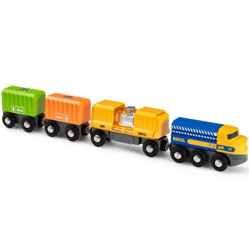 Brio 33982 Godståg med tre vagnar