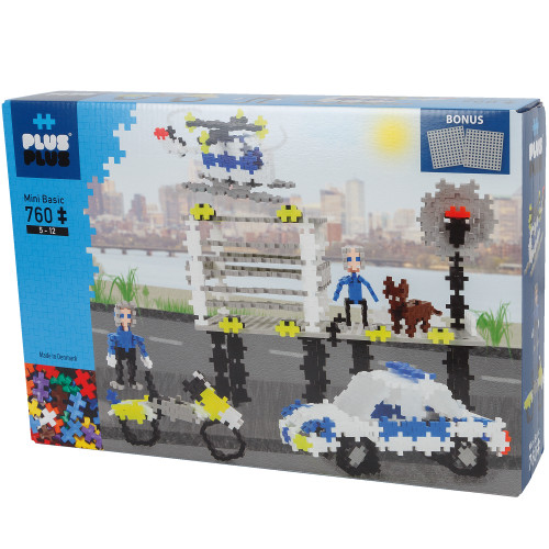 Plus-Plus Police/760 pcs