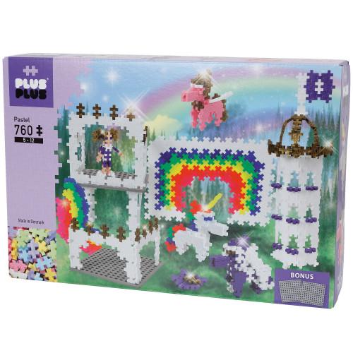 Plus-Plus Rainbow Castle/760 pcs