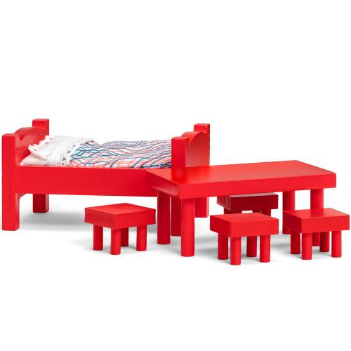 Pippi Möbelset Säng + Bord
