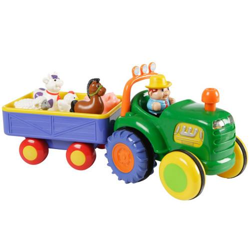 Happy Baby Farm Tractor med Trailer
