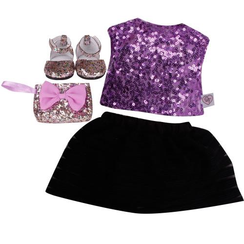 Designafriend Sparkle Party dress
