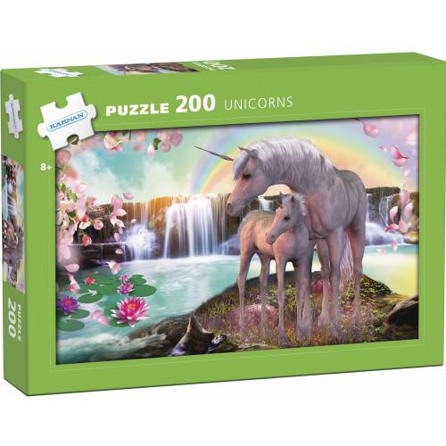 Kärnan Pappussel Unicorns 200 bitar