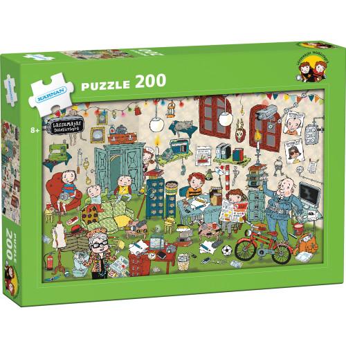 Kärnan Pappussel Lasse-Maja 200 Bitar