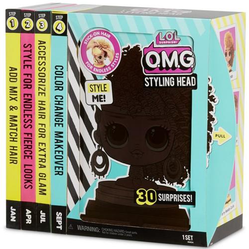 L.O.L. Surprise OMG Styling Head- AA-