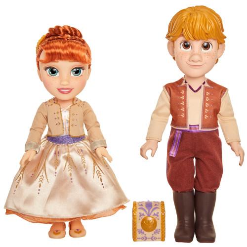 JAKKS Pacific Frozen 2 Doll Anna and Krist.