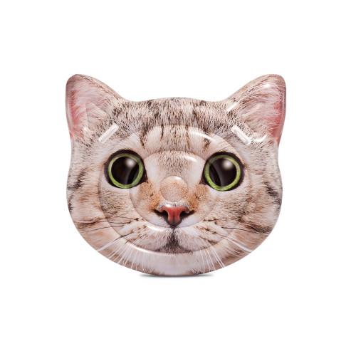 Intex Cat Face Island Real Printing