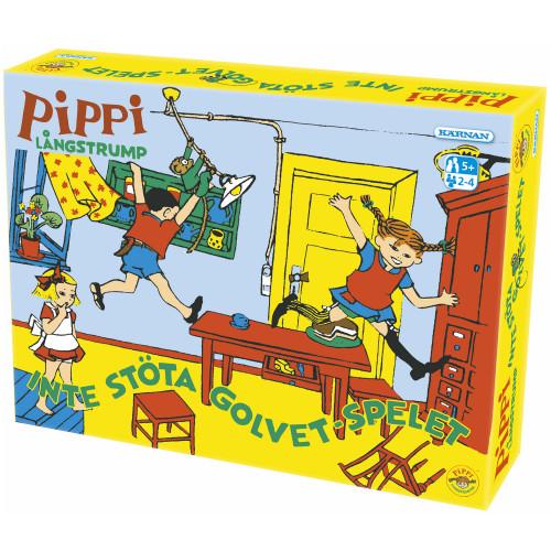 Kärnan Pippi Inte-stöta-golvet-spel