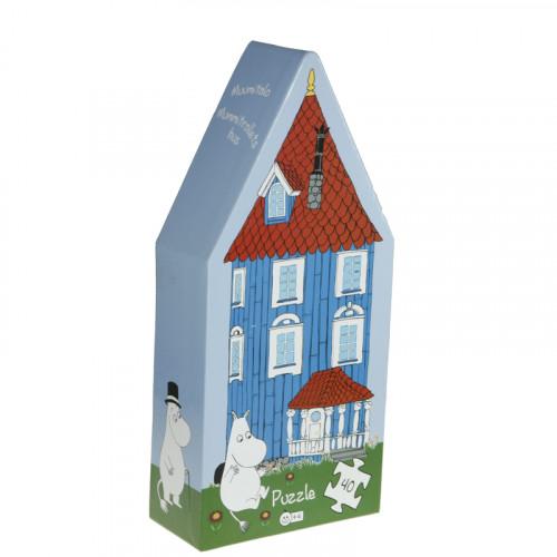 Barbo Toys Mumin Muminhuset Pussel 40b