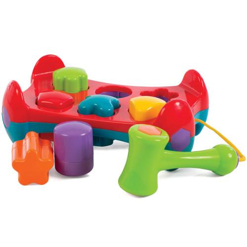 Playgro Hammarbänk med former