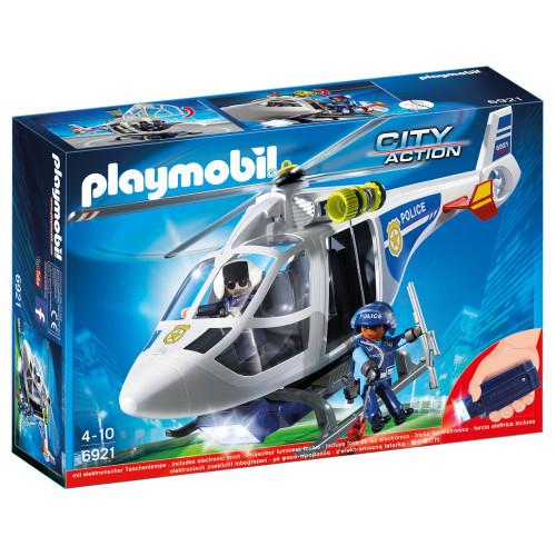 Playmobil Action, Polishelikopter  LED