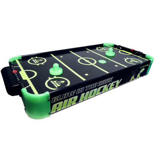 SportMe Airhockey spel Glow in the Da.