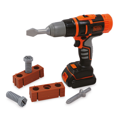 Smoby Black & Decker Kit drill blis.
