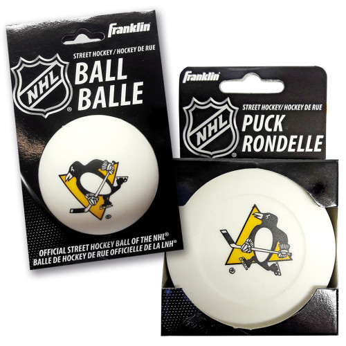 Franklin Streethockeypuck+ Boll Pittsbu