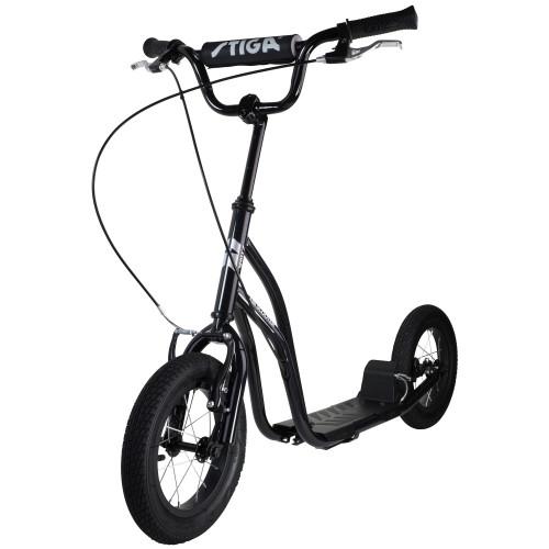 """Stiga Air Scooter 12"""" Black"""