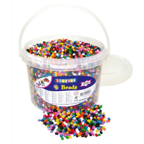 Playbox Pärlhink 20 000st 10-Pärlmix