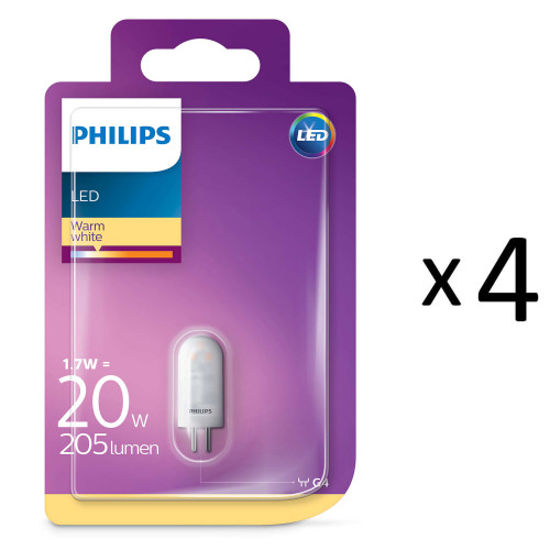 Philips LED G4 20W (1,7W) 12V 4st