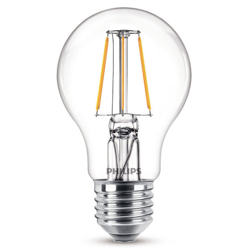 Philips 2-pack LED Filament E27 40W