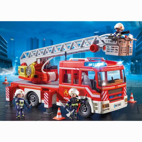 Playmobil Brandbil med stege