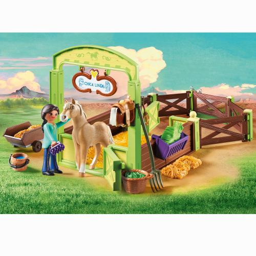 Playmobil Spirit Häst Box Pru & Chica