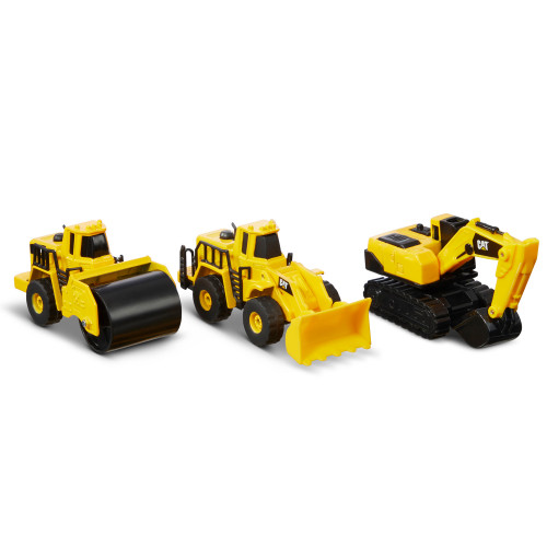 Cat Metall 3-p Wheel loader+Steamr